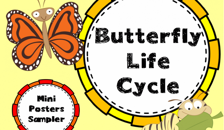 Flutter By, Butterfly! (and a freebie!)