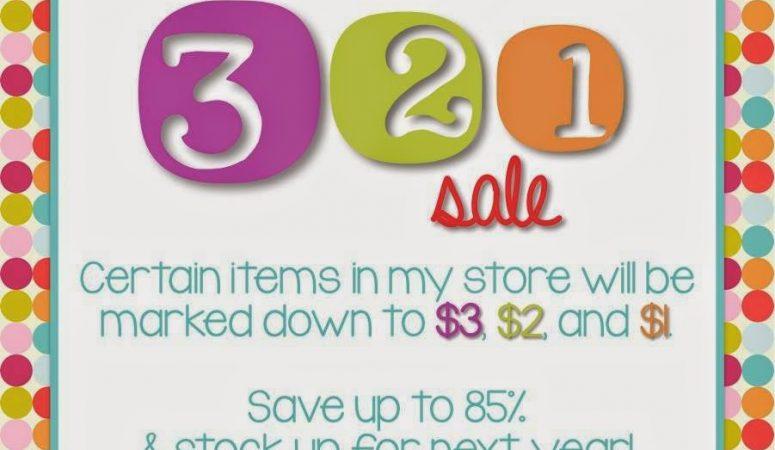 3-2-1 Sale!