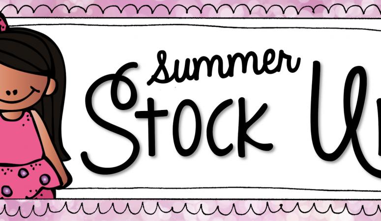 Summer Stock Up!