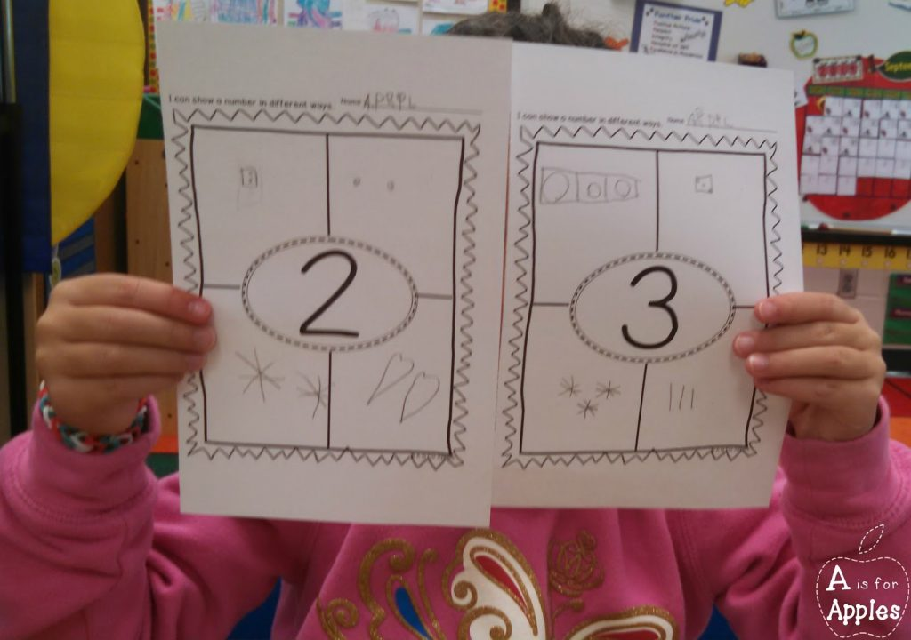 Ways to make numbers using printables