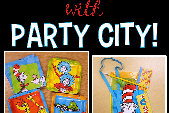Hats off to Reading with Party City!