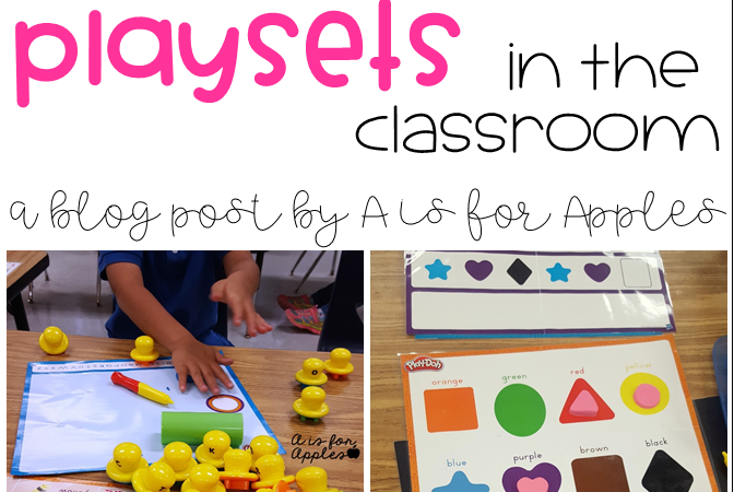 Using Play-Doh Playsets in the Classroom!