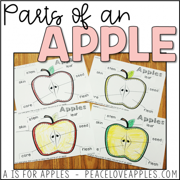 Free Apple Learning Activity