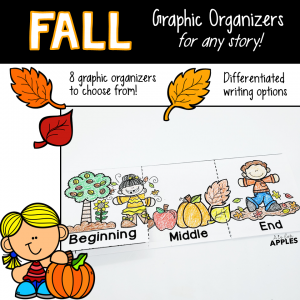 Fall Story Graphic Organizers