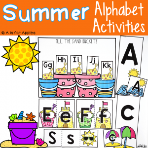 Summer Alphabet Activities