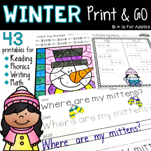 Winter Print and Go