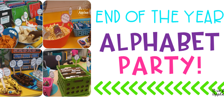 End of the Year Alphabet Party!