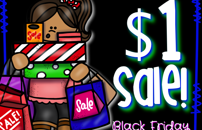 Black Friday Dollar Deals and Bundle Bash!