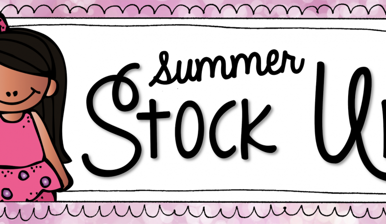 Summer Stock Up!