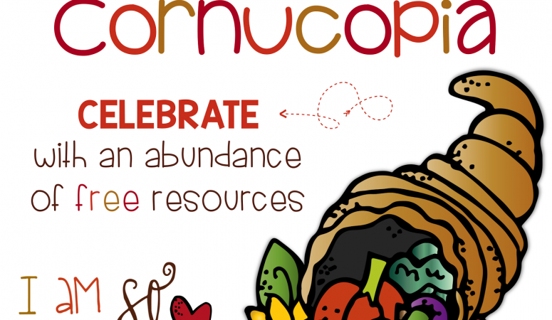 A Cornucopia of Classroom FREEBIES!