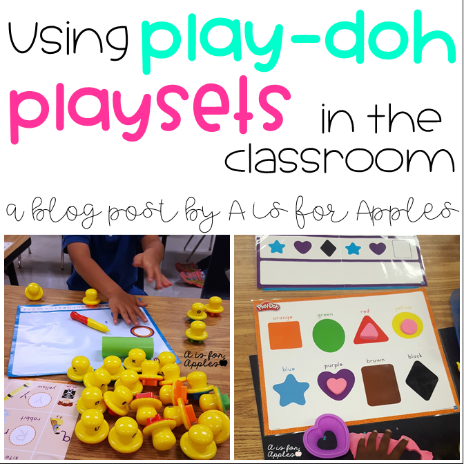 Play-doh in the classroom