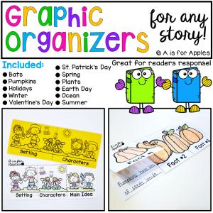 Story Graphic Organizers-BUNDLE